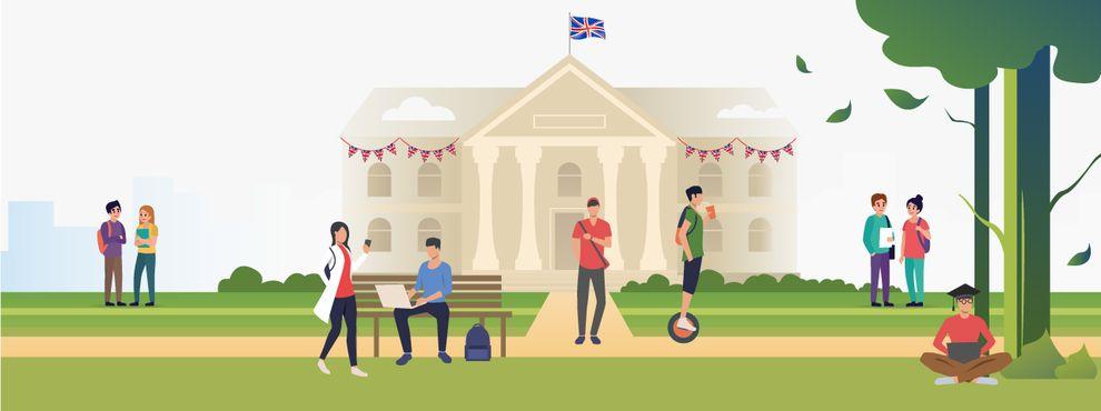 University welcome week around the world: UK